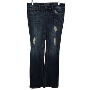 Refuge Runway Everyday Boot Distressed Jeans 8